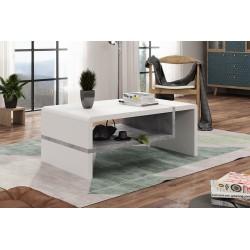 FOLK alb / beton, masă de...